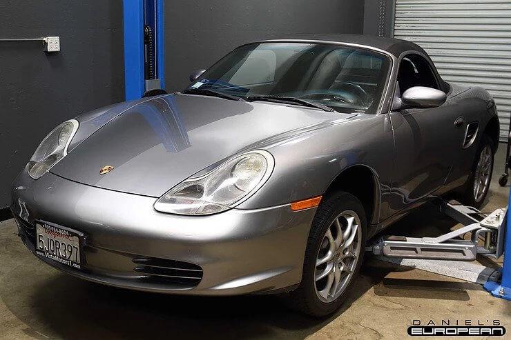 2004 Porsche Boxster Waterpump & Wheel Bearing Replacement