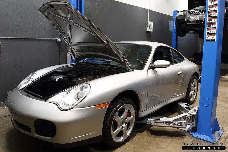 2005 Porsche 911 Carrera 4S Fuel Leak Repair