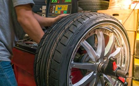 Audi Wheel Balancing
